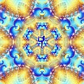 Meditation Galaxy 5 by Derek Gedney