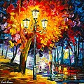 Meditation by Leonid Afremov