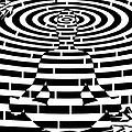 Meditation Maze  by Yonatan Frimer Maze Artist