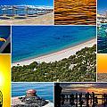 Mediterranean Coast Collage by Brch Photography