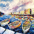 Mediterranean Port Colours by K McCoy