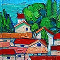 Mediterranean Roofs 1 2 3 by Ana Maria Edulescu