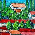 Mediterranean Roofs 2 3 4 by Ana Maria Edulescu