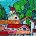Mediterranean Roofs 2 by Ana Maria Edulescu