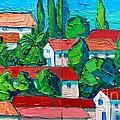 Mediterranean Roofs 3 4 by Ana Maria Edulescu