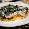 Mediterranean Sardine Pizza by Dean Harte