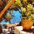 Mediterranean Steps by Pixel Chimp