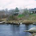 Medomak River, Waldoboro,maine by Nance Trueworthy