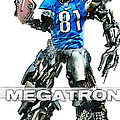 Megatron-calvin Johnson by Peter Chilelli