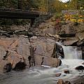 Meigs Falls In Autumn by Dan Sproul