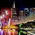 Melbourne Fireworks Spectacular by Az Jackson