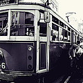 Old Tram In Melbourne by Javier Gomez
