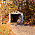 Melcher Covered Bridge Parke Co In Usa by Panoramic Images