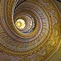 Melk Abbey Spiral Staircase by Alida Thorpe