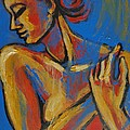 Mellow Yellow- Female Nude Portrait by Carmen Tyrrell