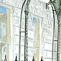 Mellvile Street Doorway by Iain  Galloway
