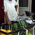 Melon Seller Old Medina Fez Morocco by PIXELS  XPOSED Ralph A Ledergerber Photography