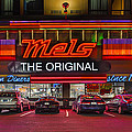 Mels Diner by Gary Warnimont