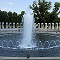 Memorial Fountain Washington Dc by Christiane Schulze Art And Photography