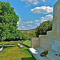 Memorial In Anzak Cemetery Along The Dardenelles In Gallipolii-turkey by Ruth Hager