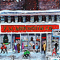 Memories Of Winter At Woolworth's by Rita Brown