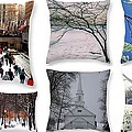 Memories Of Winter - A Collage by Dora Sofia Caputo Photographic Design and Fine Art