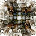 Memory Boxes-fractal Art by Karin Kuhlmann