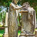 Memphis Elmwood Cemetery Monument - Cassie Hill by Jon Woodhams