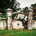 Memphis Elmwood Cemetery - Ayres Family Vault by Jon Woodhams