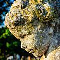 Memphis Elmwood Cemetery - Boy Angel Vertical by Jon Woodhams