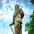 Memphis Elmwood Cemetery - Man With Cane by Jon Woodhams