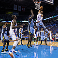 Memphis Grizzlies Vs Oklahoma City by Richard Rowe