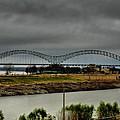 Memphis - Hernando De Soto Bridge 004 by Lance Vaughn