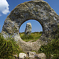 Men An Tol Neolithic Monument by Premierlight Images