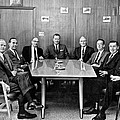 Men At A Business Meeting by Underwood Archives