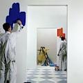 Men Painting Walls by Herbert Matter