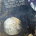 Men Walk On Moon Astronauts by Justyna JBJart