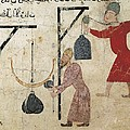 Men Weighing Goods. Fatimid Period by Everett