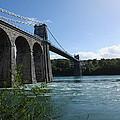 Menai Bridge by Jo Hindes