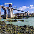 Menai Suspension Bridge by Darren Wilkes