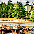 Mendota Bete Grise Lighthouse by Optical Playground By MP Ray