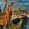 Menemsha Lobster Boat by Edward Ching