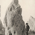 Menhir Known As 'le Geant De  Kermario' by Mary Evans Picture Library