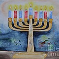Menorah by Sally Rice