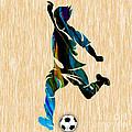 Mens Soccer by Marvin Blaine
