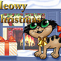 Meowy Christmas by Joseph Juvenal