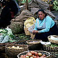 Mercado Ipiales  Colombia by J L Woody Wooden