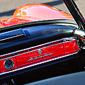 Mercedes 300 Sl Dashboard Emblem by Jill Reger