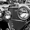Mercedes 544k Grille - Bw by Christopher Holmes