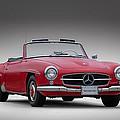 Mercedes-benz 190 Sl by Douglas Pittman